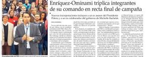 Democracia Activa participa en Grupo de Expertos de Marco Enríquez-Ominami.